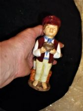 COLLECTABLE HIGH GLAZED TOBY JUG OLIVER TWIST WOOD & SONS FRANKLIN 1979 6""